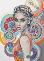 Obraz do salonu artysty Jolanta Frankiewicz pod tytułem Kalejdoskop marzeń