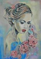 Obraz do salonu artysty Jolanta Frankiewicz pod tytułem Marzycielka