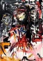 Obraz do salonu artysty Marcin Wypych pod tytułem Wielka Dama