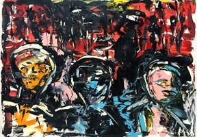 Obraz do salonu artysty Marcin Wypych pod tytułem Otchłań Pożądania