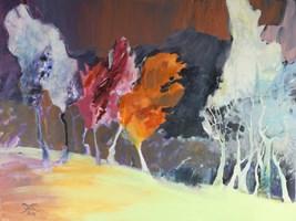 """Obraz do salonu artysty Joanna Sołtan pod tytułem Z cyklu """"Dreamed Landscapes- 32"""