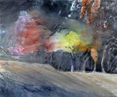 """Obraz do salonu artysty Joanna Sołtan pod tytułem Z cyklu """"Dreamed Landscapes-25"""""""