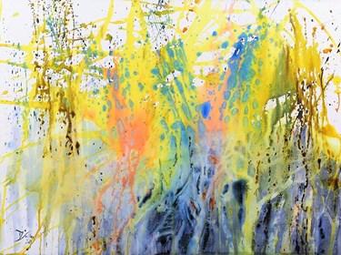 Obraz do salonu artysty Joanna Sołtan pod tytułem Pejzaże wyśnione- widok 51