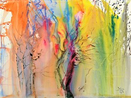 Obraz do salonu artysty Joanna Sołtan pod tytułem Pejzaże wyśnione - widok 49