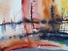 Obraz do salonu artysty Joanna Sołtan pod tytułem Pejzaże wyśnione - widok 35
