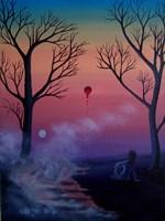 Obraz do salonu artysty Katarzyna Łazarska pod tytułem Kapiące Słońce