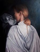 Obraz do salonu artysty Magdalena Konopka pod tytułem Oczekiwanie