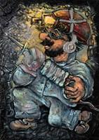 Obraz do salonu artysty Igor Handźian pod tytułem Bez tytułu