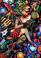 Obraz do salonu artysty Igor Handźian pod tytułem Baba Jaga