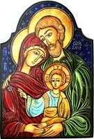 Obraz do salonu artysty Igor Handźian pod tytułem Święta rodzina