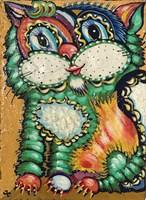 Obraz do salonu artysty Igor Handźian pod tytułem Kot