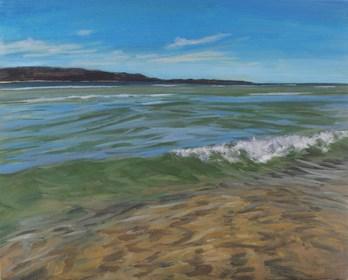 Obraz do salonu artysty Andrew John Stewart pod tytułem My Favourite Place to Swim