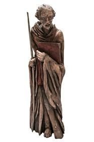 Rzeźba do salonu artysty Marcin Myśliwiec pod tytułem Belfer