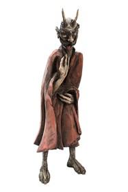 Rzeźba do salonu artysty Marcin Myśliwiec pod tytułem Diabeł sarmacki