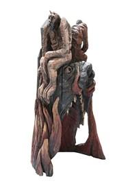 Rzeźba do salonu artysty Marcin Myśliwiec pod tytułem Paszcza Lewiatana