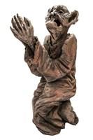 Rzeźba do salonu artysty Marcin Myśliwiec pod tytułem Pokuta