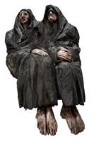 Living room sculpture by Marcin Myśliwiec titled Widows