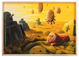 Obraz do salonu artysty Zbigniew Olszewski pod tytułem Pełna kontrola