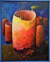 Obraz do salonu artysty Zbigniew Olszewski pod tytułem Moja wiara II