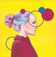 Obraz do salonu artysty Ewelina Czarniecka pod tytułem Różowa Kurtka