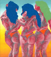 Obraz do salonu artysty Ewelina Czarniecka pod tytułem Paradise