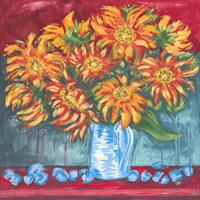 Obraz do salonu artysty Ewelina Czarniecka pod tytułem Złość