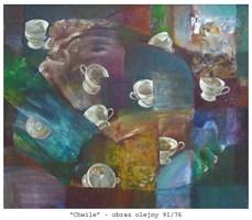 Obraz do salonu artysty Maria Kucia-Albin pod tytułem Chwile