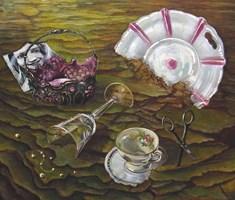 Obraz do salonu artysty Maria Kucia-Albin pod tytułem Rozstanie