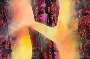 Obraz do salonu artysty Piotr Przybyła pod tytułem Pochodzenie światła nr 16