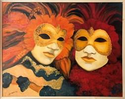 Obraz do salonu artysty Beata Twardowska pod tytułem Złoty duet