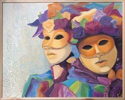 Obraz do salonu artysty Beata Twardowska pod tytułem Weneckie zauroczenie