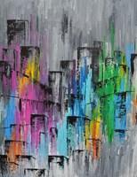 Obraz do salonu artysty Martyna Wójcik pod tytułem Manhattan