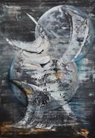 Obraz do salonu artysty Martyna Wójcik pod tytułem Księżyce