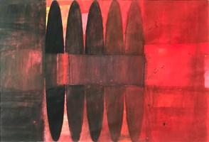 Obraz do salonu artysty Artur Wojtczuk pod tytułem PRÓBY ZACHOWANIA RÓWNOWAGI  ( RÓWNOSĆ 1 )