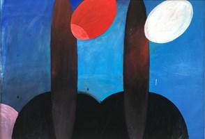 Obraz do salonu artysty Artur Wojtczuk pod tytułem Próby zachowania równowagi ( szkice kubańskie 1 )