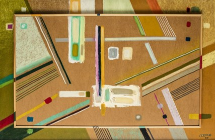 Obraz do salonu artysty L. Tadeusz Serafin pod tytułem LTS 10 VII