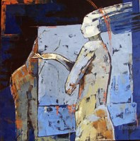 Obraz do salonu artysty Elżbieta  Boukourbane pod tytułem TRANS II