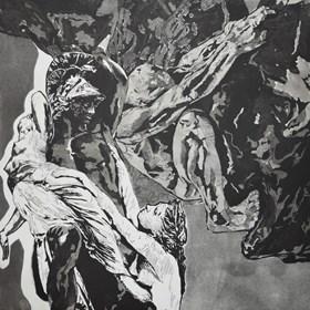 Obraz do salonu artysty Sandra Trejderowska pod tytułem Cierpienie