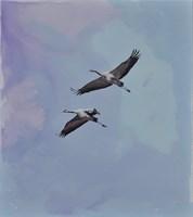 Obraz do salonu artysty Joanna Półkośnik pod tytułem Błękity