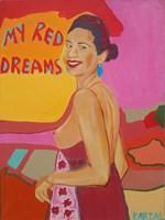 Obraz do salonu artysty Celalettin Kartal pod tytułem My red Dreams