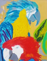 Obraz do salonu artysty Celalettin Kartal pod tytułem You and Me