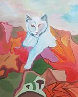 Obraz do salonu artysty Celalettin Kartal pod tytułem Wolf