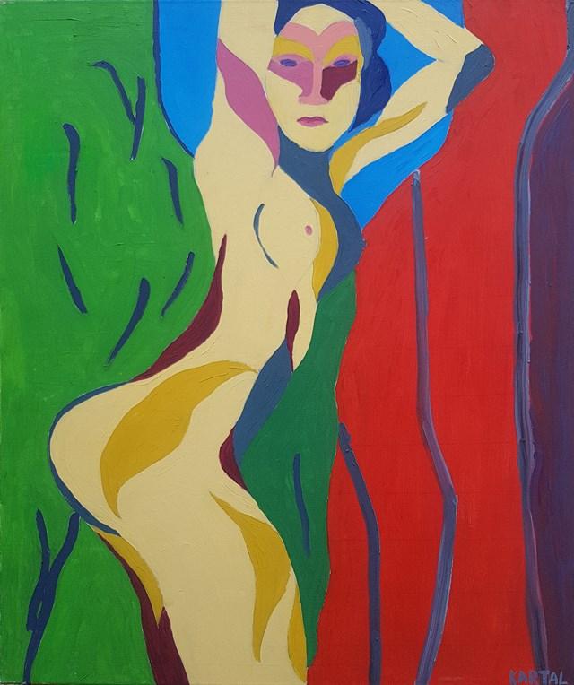 Obraz do salonu artysty Celalettin Kartal pod tytułem Idealna