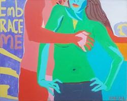 Obraz do salonu artysty Celalettin Kartal pod tytułem Embrace Me!
