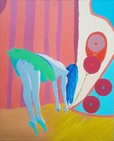 Obraz do salonu artysty Celalettin Kartal pod tytułem Hope Dancer