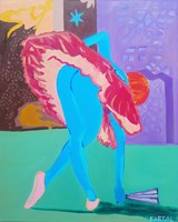 Obraz do salonu artysty Celalettin Kartal pod tytułem Hope Dancer II
