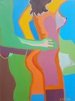 Obraz do salonu artysty Celalettin Kartal pod tytułem Akt 2