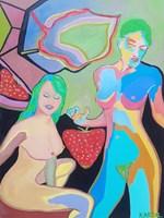 Obraz do salonu artysty Celalettin Kartal pod tytułem Forbidden Berry