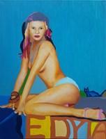 Obraz do salonu artysty Celalettin Kartal pod tytułem Edyta