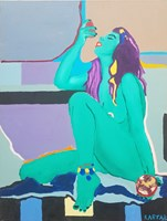 Obraz do salonu artysty Celalettin Kartal pod tytułem Eat me!